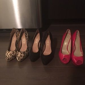 Aldo Shoes - Aldo size 6 shoes, three brand pairs never worn,