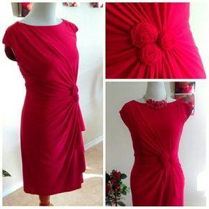 Jones Wear Dress Dresses & Skirts - HP ⬇❤Gorgeous Red Stretch Dress