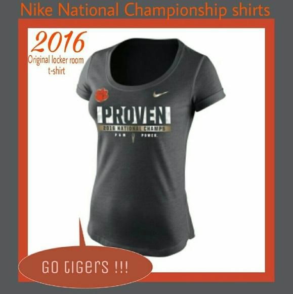 553e16555fbf Nike 🧡 Clemson Proven National Championship shirt