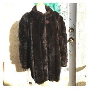 Fabulous Furs Jackets & Blazers - Fabulous Furs Siberian faux fur
