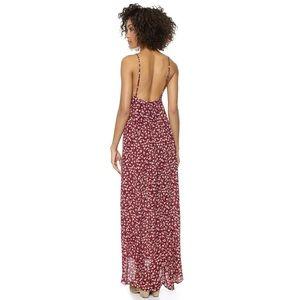 Flynn Skye Dresses & Skirts - Flynn Skye red Floral Maxi dress size 1 S M