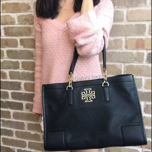 Tory Burch Britten East west tote black large