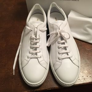 f773b124b9578 Common Projects Shoes - Common Projects Achilles low white silver NWT 40