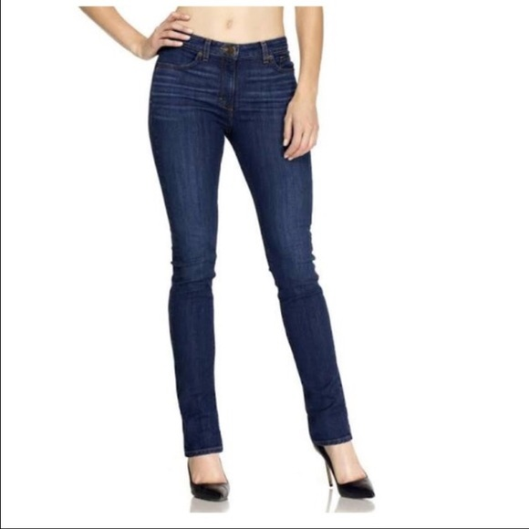 Spanx The Signature Straight Jeans Dark Dipped
