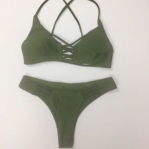 Other - SW199 Green bikini