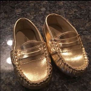Trumpette Other - Gold Trumpette Baby Shoes