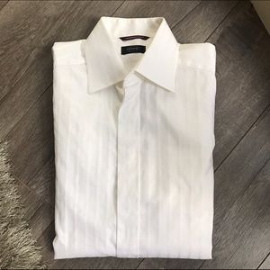 Eton Other - ETON White Dress Shirt 15 1/2 39 French Cuff Shirt