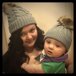 Other - Mommy and Baby hats