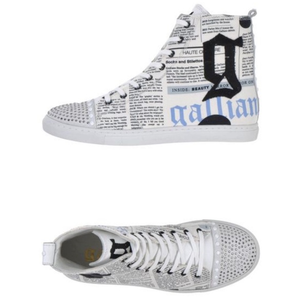 c93f40ab John Galliano High-tops Sneakers 36 with crystals