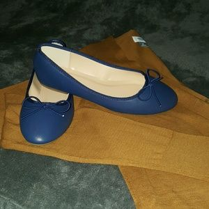 Journee Collection Shoes - Journeycollection Navy ballet flats