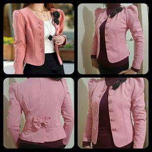 Jackets & Blazers - 🌹🌹vintage puff shoulder open blazer🌹🌹