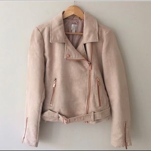 Gorgeous Lauren Conrad Moto Suede Jacket