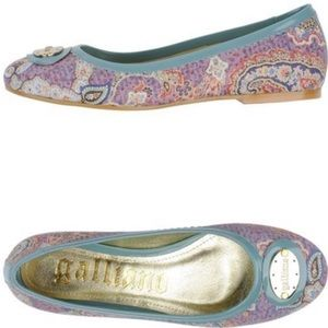 John Galliano Shoes - John Galliano ballet flats size 6