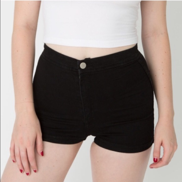 45% off American Apparel Pants - American Apparel Easy Jean Shorts ...