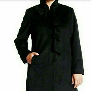 🚨DKNY NEW 2x Black Wool Walker Winter Coat
