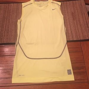 Nike Pro Combat Dri-Fit sleeveless shirt youth XL