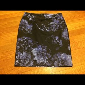 Ann Taylor Petite Floral Skirt New with Tag $79.99