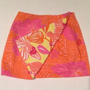 Lilly Pulitzer Other - 🌺🌸 Lilly Pulitzer reversible skirt. Size 6