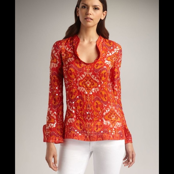 b6b881e1907 Tory Burch Stephanie Sequin Tunic. M_5888019699086ab14100bc58