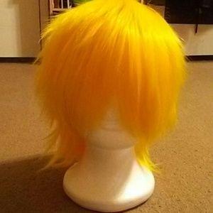 Cosplay wig Yellowish blonde