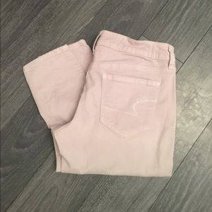 American Eagle Outfitters Pants - Stone Colored Skinny American Eagle Pants