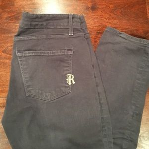 Rich & Skinny Denim - Rich & Skinny Sleek Dark Grey Jeans