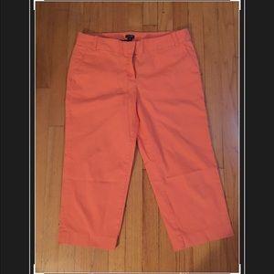 J.crew city fit pants size 8