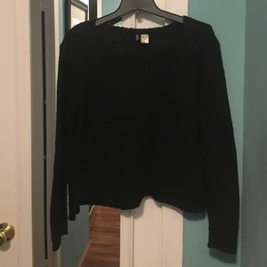 H&M DIVIDED cropped sweater