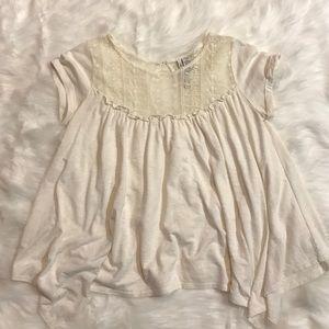 Lace Flowy T-shirt