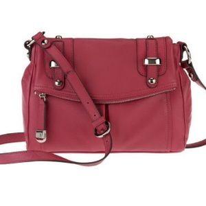 b. makowsky Handbags - B. Makowsky Jordana green leather crossbody bag