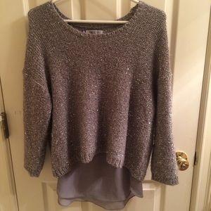 Jennifer Lopez Shimmering Sweater