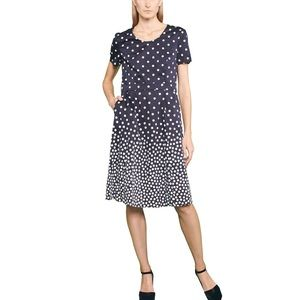 Gerry Weber Dresses & Skirts - POLKA DOT BLACK DRESS by GERRY WEBER