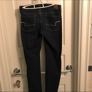 American Eagle Outfitters Jeans - American Eagle Dark Wash Skinny Jean (extra long)