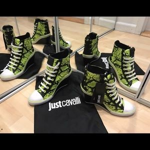 Just Cavalli Shoes - Just Cavalli high-tops sneakers size 36, US 6