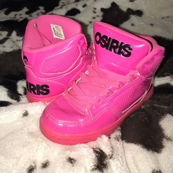 42496c867cb OSIRIS Shoes   Hot Pink Hip Hop Girls Size 4   Poshmark