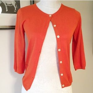 Carolina Herrera Sweaters - Carolina Herrera silk cotton Cardigan XS