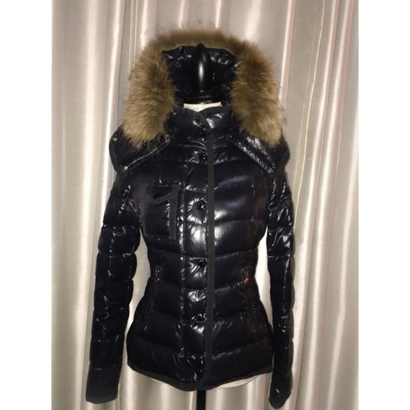 070ab7fcf Moncler armoise fur-trimmed puffer jacket