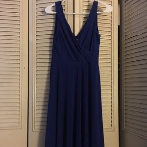 Royal Blue Covington Dress
