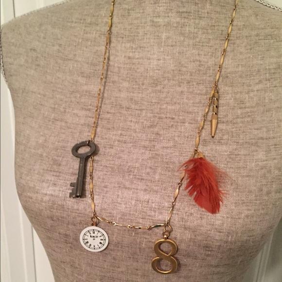 Anthropologie Jewelry - Anthropologie Charm Necklace