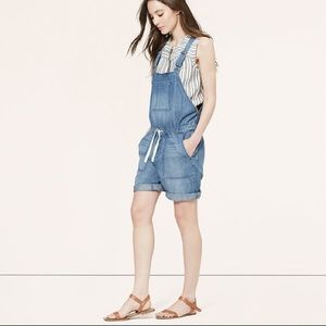 LOFT Pants - LOFT Denim Overalls