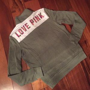 Victoria's Secret PINK half zip XS