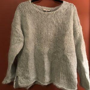Madewell Mint Green Mohair Sweater