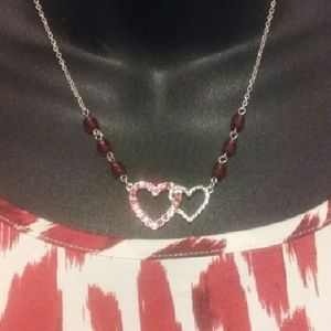 Jewelry - Sparkling  Heart  Necklace