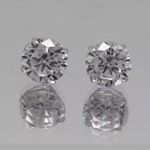 Jewelry - 💎🌺1CT Diamond Solid 14K White Gold Studs