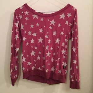 T2 Love Sweaters - Pink T2 Love star sweater