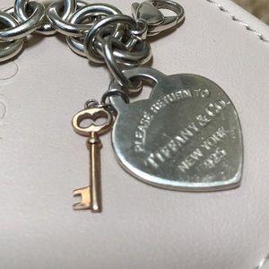 Tiffany & Co. Jewelry - Tiffany gold key heart bracelet