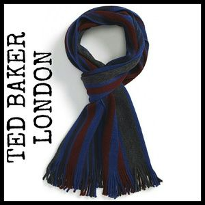 Ted Baker London Other - Ted Baker 'Raschel' Stripe Wool Scarf