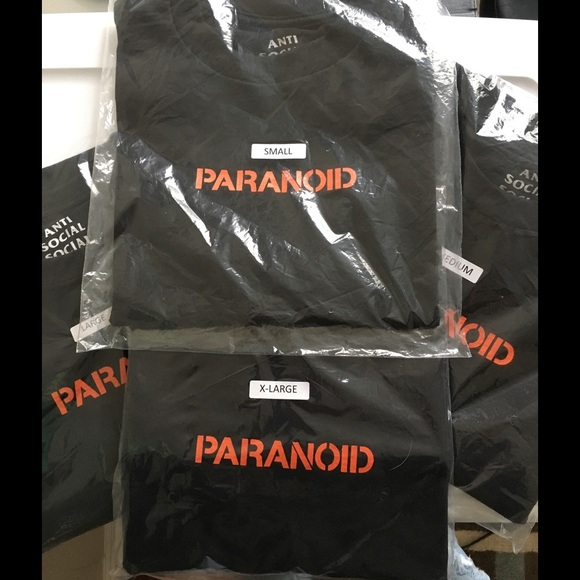 86af6f6c3740 100% Authentic Undefeated x ASSC Paranoid Tee