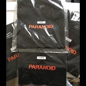 Undefeated Other - 100% Authentic Undefeated x ASSC Paranoid Tee