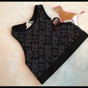 🆕NWT VS PINK ultimate reversible bra top